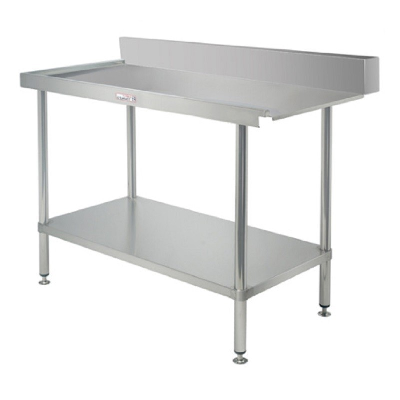 Simply Stainless SS07-6-1800R Outlet Bench 1800x600