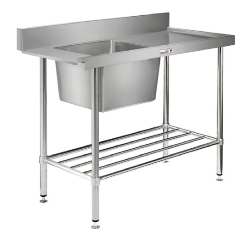 Simply Stainless SS08-7-1500L Inlet Bench 1500x700