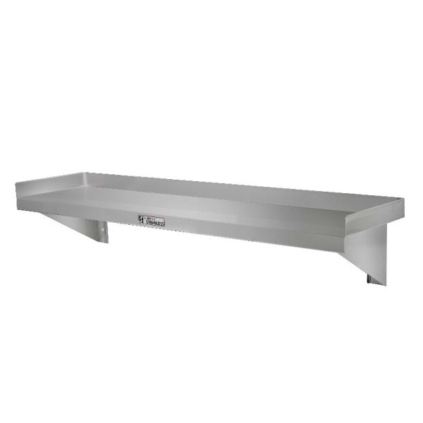 Simply Stainless SS10-2400 Wall Shelf 2400x300