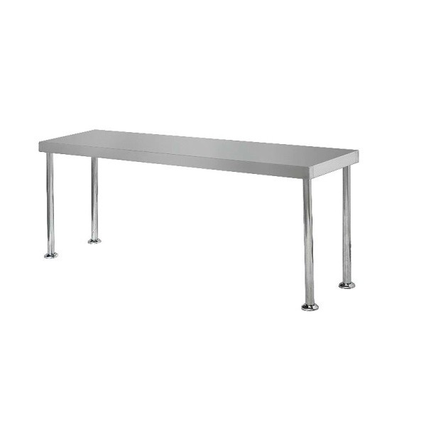 Simply Stainless SS12-1800 Bench Overshelf 1800x300
