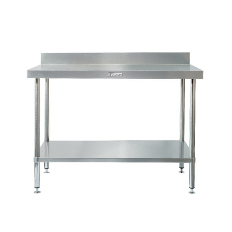 Simply Stainless SS02-7-0300 Splashback Work Bench 300x700