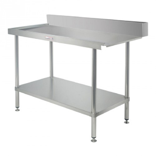 Simply Stainless SS07-7-1650R Outlet Bench 1650x700
