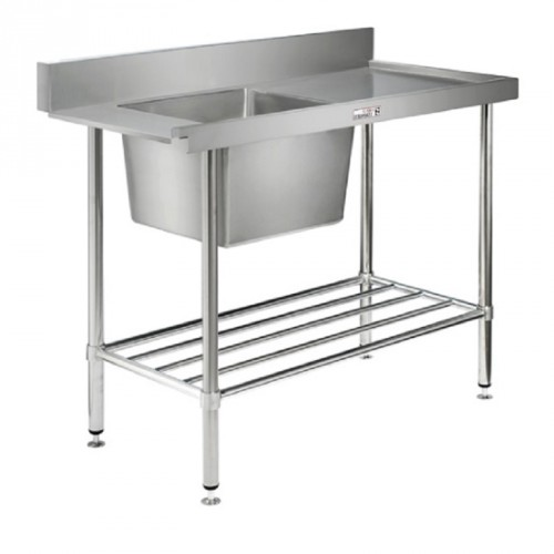 Simply Stainless SS08-7-1200L Inlet Bench 1200x700
