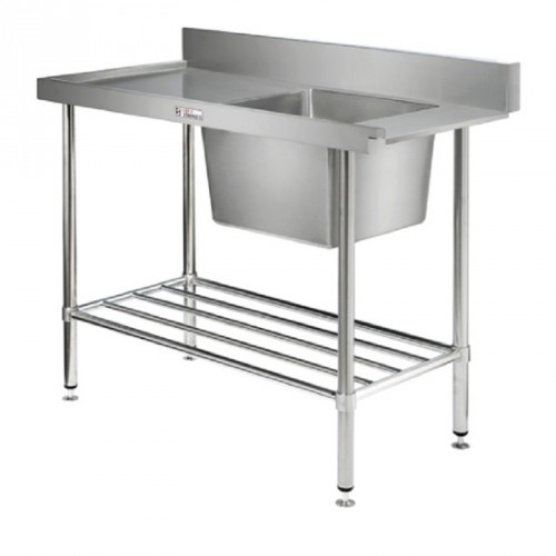 Simply Stainless SS08-7-2100R Inlet Bench 2100x700