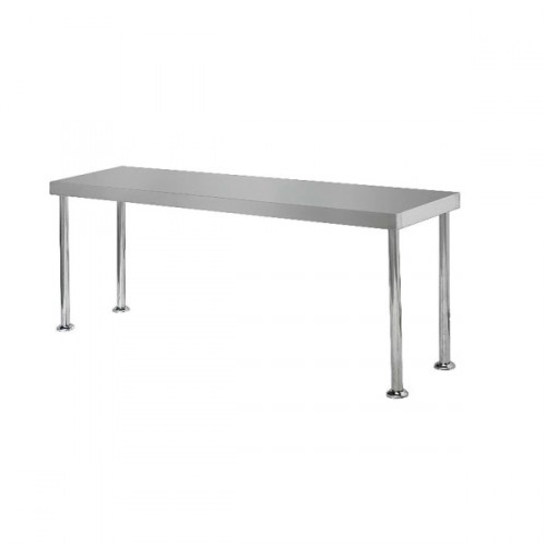 Simply Stainless SS12-2400 Bench Overshelf 2400x300