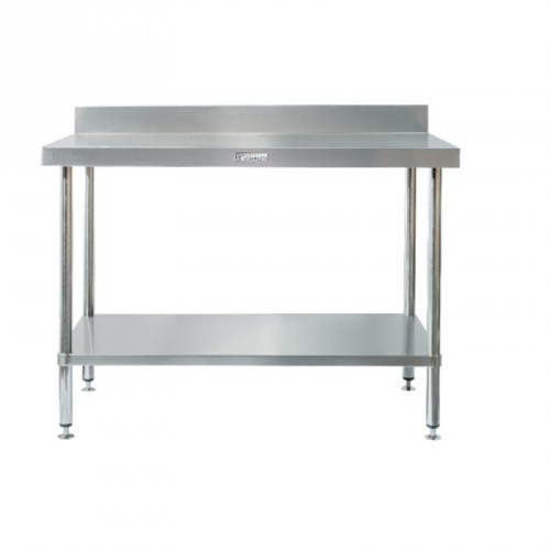 Simply Stainless SS02-6-0900 Splashback Work Bench 900x600