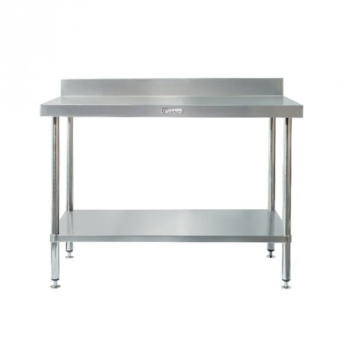 Simply Stainless SS02-7-1500 Splashback Work Bench 1500x700