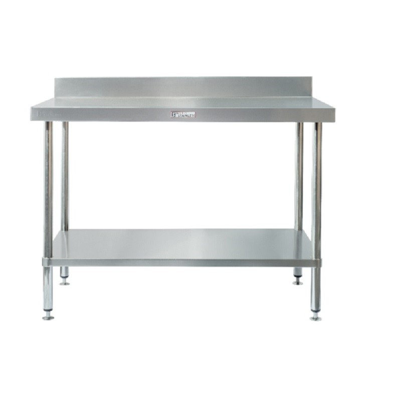 Simply Stainless SS02-6-0300 Splashback Work Bench 300x600