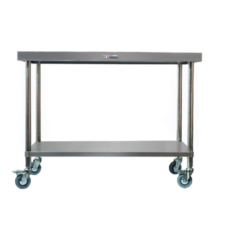 Simply Stainless SS03-7-1500 Mobile Work Bench 1500x700